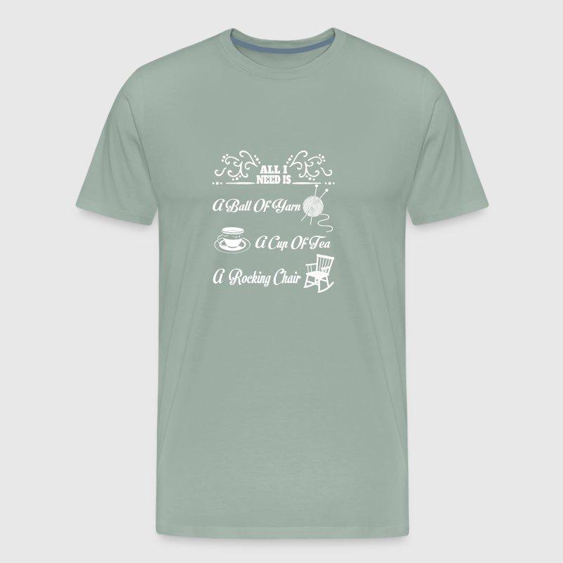 Yarn - All I need is a ball of yarn t-shirt by | Spreadshirt