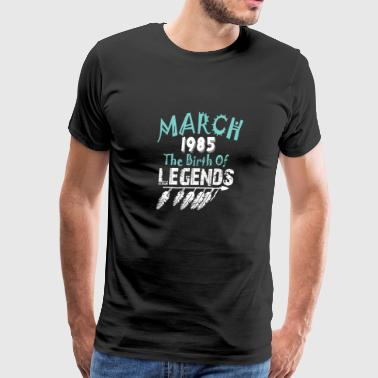 March 1985 The Birth Of Legends - Men's Premium T-Shirt