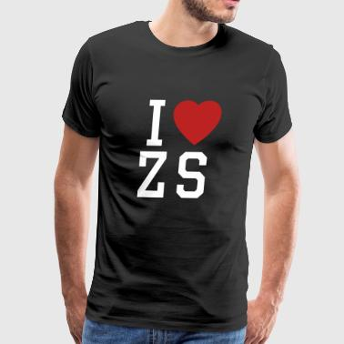 I Love Zack Snyder - Men's Premium T-Shirt