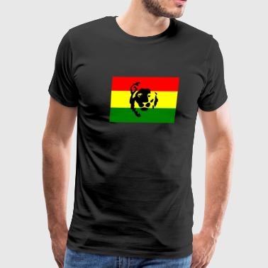 Red Gold Green Red Green Gold Lion - Men's Premium T-Shirt