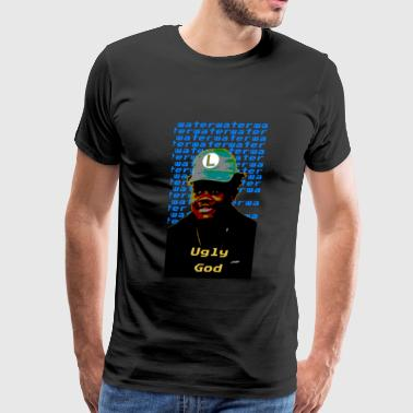 young ugly god magnification - Men's Premium T-Shirt