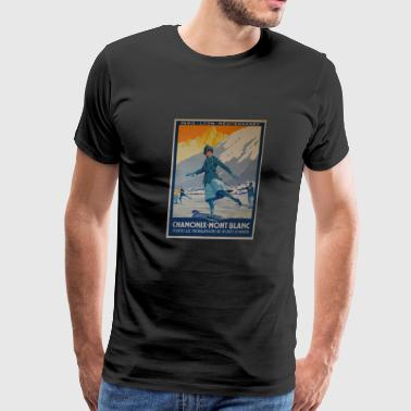 public domain images the first winter olympics 192 - Men's Premium T-Shirt