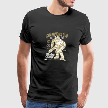 CHAMPIONS CUP HOCKEY - Men's Premium T-Shirt