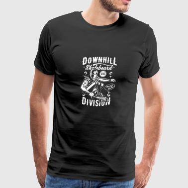 DOWNHILL SKATEBOARD DIVISION - Men's Premium T-Shirt