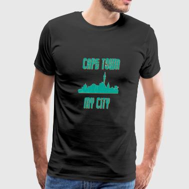 Cape town MY CITY - Men's Premium T-Shirt