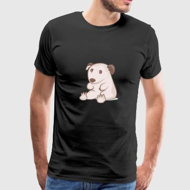 Sitting wombat - Men's Premium T-Shirt