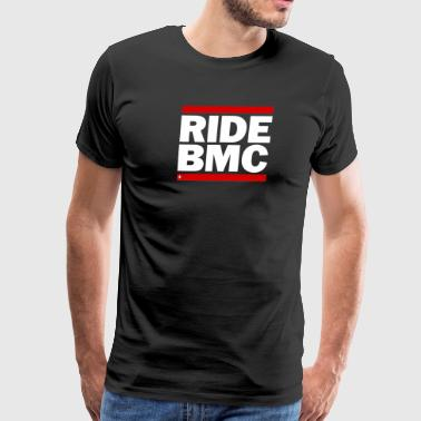 ride bmc Cycling Shirt Tour De France Cadel  - Men's Premium T-Shirt