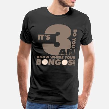 Jam Session A Good Time for Bongos - Men's Premium T-Shirt
