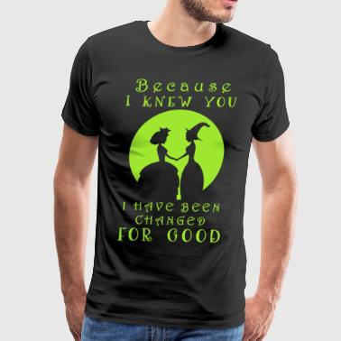 Wicked. Wicked Musical Quotes. - Men's Premium T-Shirt