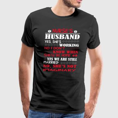 Nurses Husband Nurse's Husband T Shirt - Men's Premium T-Shirt