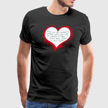 Heart Peace Peace In Your Heart - Men's Premium T-Shirt