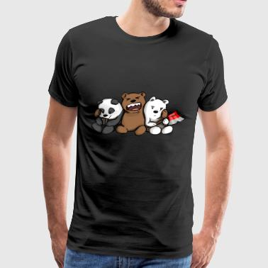 Bear Den Gaming Phone - Men's Premium T-Shirt