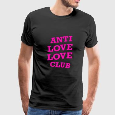 LOGO ANTI LOVE solo - Men's Premium T-Shirt