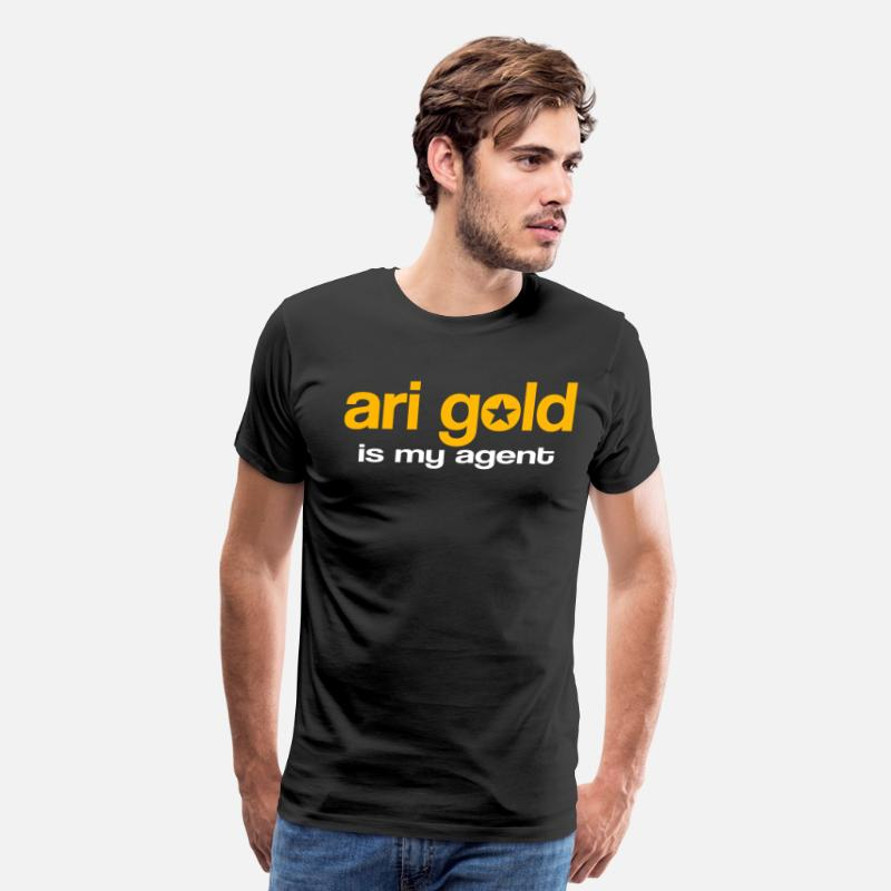Gold T-Shirts - Ari Gold Is My Agent - Entourage - Men's Premium T-Shirt black