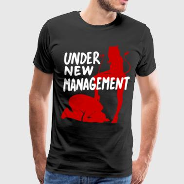 under new management - Men's Premium T-Shirt