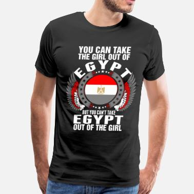 This Heart Is Taken You Can Take The Girl Out Of Egypt - Men's Premium T-Shirt