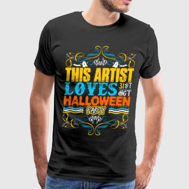 This Artist Loves 31st Oct Halloween Party - Men's Premium T-Shirt