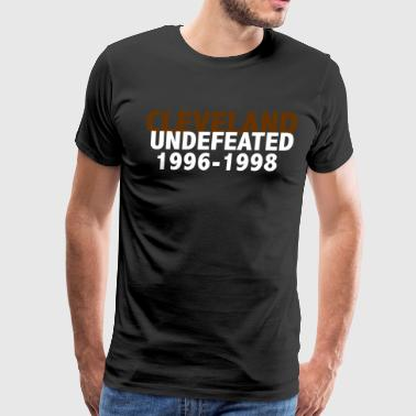 CLEVELAND UNDEFEATED SHIRT - Men's Premium T-Shirt