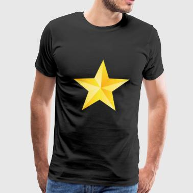 The Starry Night Sparkling Star - Men's Premium T-Shirt