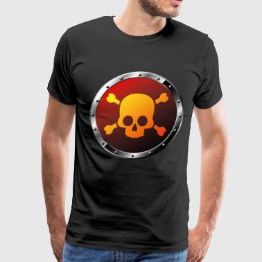danger sign - Men's Premium T-Shirt