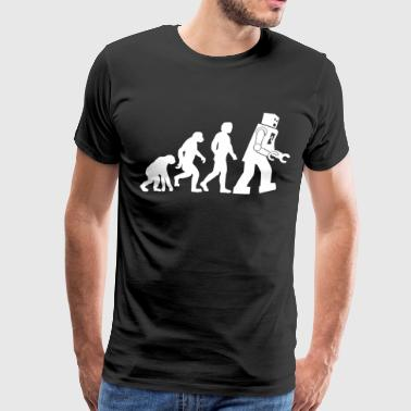 Big Bang Theory Evolution - Men's Premium T-Shirt