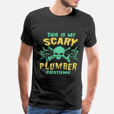 Hobbyists Hobbyists - This is my scary plumber costume - Men's Premium T-Shirt