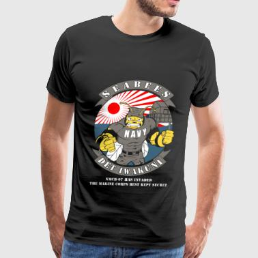 Seabee Det Iwakuni - MCB07 has invaded - Men's Premium T-Shirt