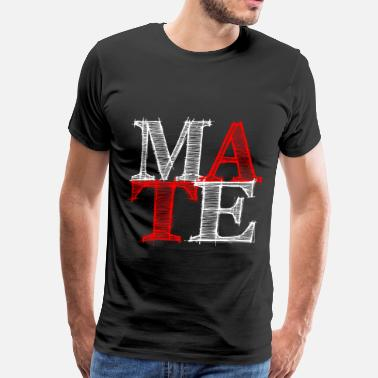 Wedding mate - Me - Men's Premium T-Shirt