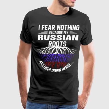 Russian Roots Are Deep Down Inside - Men's Premium T-Shirt