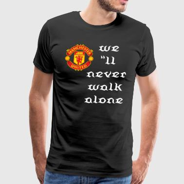manchester united - Men's Premium T-Shirt