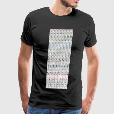Mixing Desk Producer Channel Strip Mixing Console - Men's Premium T-Shirt