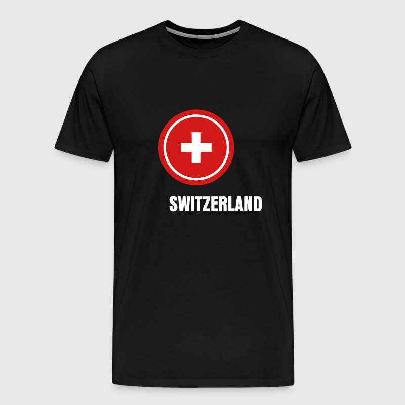 Switzerland Suisse - Men's Premium T-Shirt