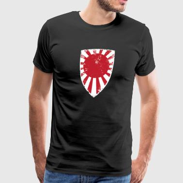 Japan Imperial Navy Flag - Men's Premium T-Shirt
