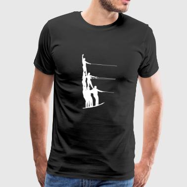 Water Ski Water Sports - Men's Premium T-Shirt