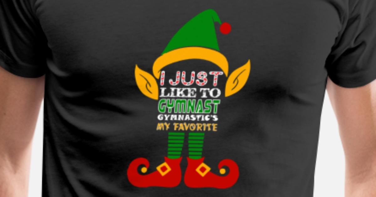 I Just Like Gymnast Gymnastics Favorite Christmas by atozzdesigns ...
