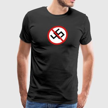 Anti-45 Against White Supremacy and the Alt Right - Men's Premium T-Shirt