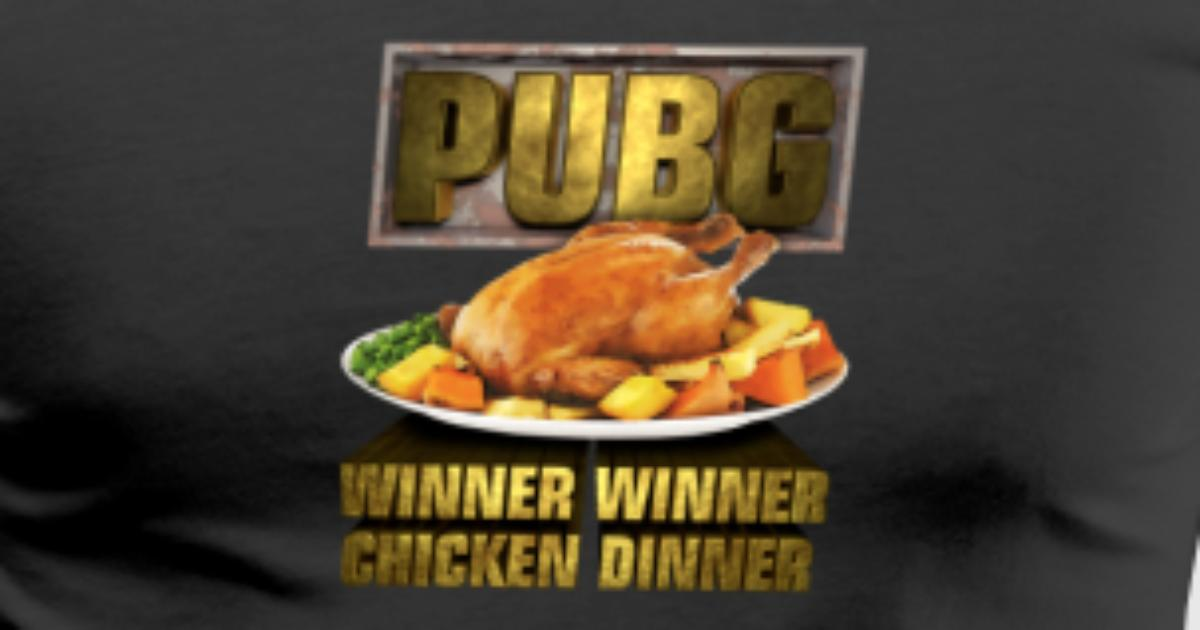 Pubg Winner Winner Chicken Dinner By Mistermarvel