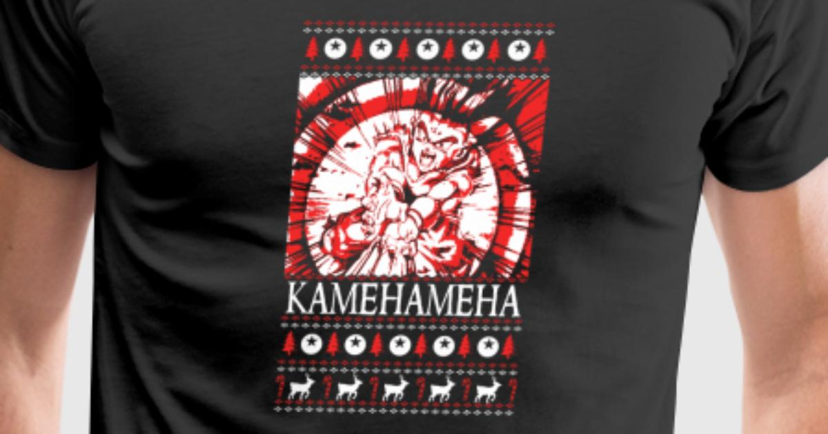 Dragon Ball – Kamehameha Ugly Christmas Sweater by   Spreadshirt