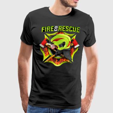 Fire and Rescue - Men's Premium T-Shirt