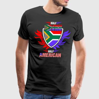 Half South African Half American - Men's Premium T-Shirt