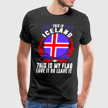 This Is Iceland - Men's Premium T-Shirt