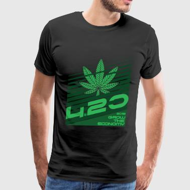 420 grow the economy 2018 - Men's Premium T-Shirt