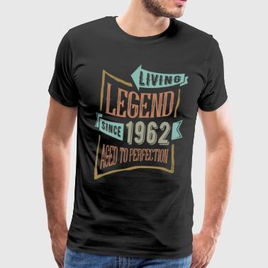1962 Birthday Since 1962 - Birthday - Men's Premium T-Shirt