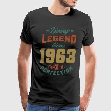 Made In 1963 Since 1963 - Birthday - Men's Premium T-Shirt