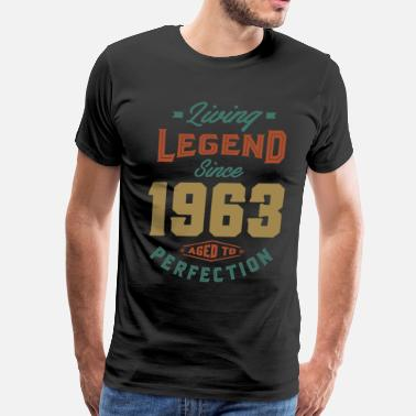 Birthday-1963 Since 1963 - Birthday - Men's Premium T-Shirt