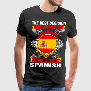 Marrying A Spanish - Men's Premium T-Shirt
