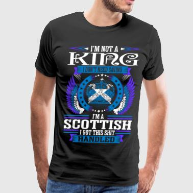Im Not A Legend Im A Scottish - Men's Premium T-Shirt