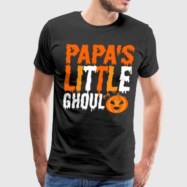 Papas Little Ghoul - Men's Premium T-Shirt