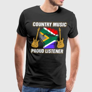 South African Country Music Tshirt - Men's Premium T-Shirt