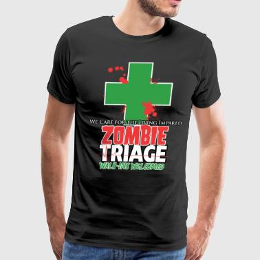 Triage Zombie Triage - Men's Premium T-Shirt
